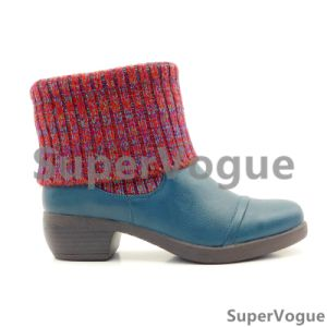 Comfortable Fashion Women Boots/Shoes Lady Boots/Shoes Ankle Boots Knit Boots