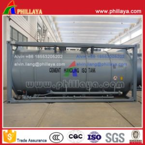 Certificated ISO Standard Bulk Cement Pressure Tank Container pictures & photos
