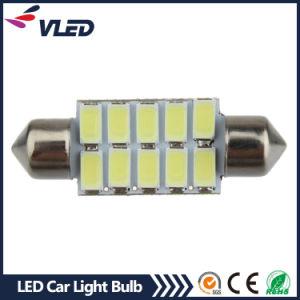 Car Canbus Festoon 12V 5630 10SMD 36mm LED Dome License Plate Reading LED Light Bulb pictures & photos