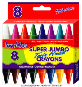 Twin Head Super Jumbo Crayons pictures & photos