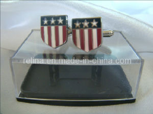 Bespoke Fashion Light Metal Cufflinks/Tie Clip/Badge