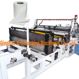 High Speed Jumbo Toilet Roll Paper Slitting Rewinding Machine pictures & photos