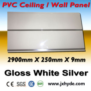 Hot Stmaping PVC Wall Panel 7.5*250mm SGS pictures & photos