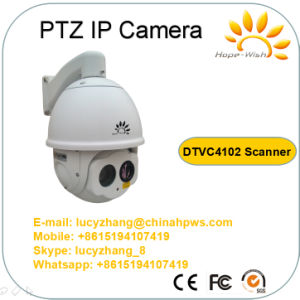 Scanner Dual Sensor PTZ Thermal Wireless Video PTZ IP Camera pictures & photos
