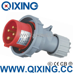 32A 400V 3 Phase Mobile Plug with IEC Standard (QX-282) pictures & photos
