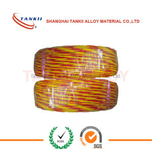 Vitreous Silica insulated Thermocouple wire with high working temperature (type KX) pictures & photos