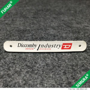 New Custom Brand White Faux Leather Zipper Puller pictures & photos