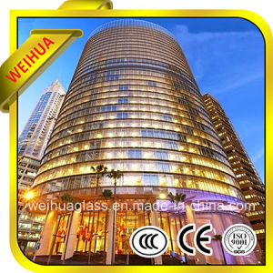 4mm-19mm Colored/Cleared Tempered Window Glass with Ce/CCC/ISO9001 pictures & photos