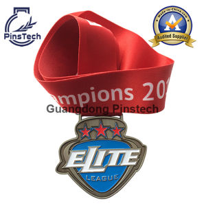 Enamel Medal with Heat-Transfer Ribbon, No Minimum Order Quantity pictures & photos