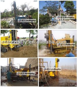 Dfq-400A Pneumatic Hard Stone Drilling Rig for Sale pictures & photos