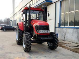 100HP 4WD Farming Wheel Tractors pictures & photos