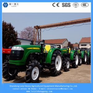 John Deere Style, New Mini/Small Four Wheel/Farm Agricultural/Compact/Garden Tractors 48HP pictures & photos