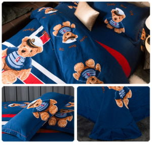 100% Cotton Cartoon Bedding Set for Children pictures & photos
