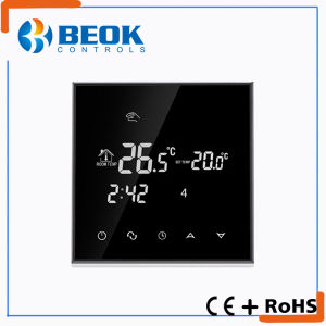 Black Backlight Temperature Controller Thermostat with Daily Program pictures & photos