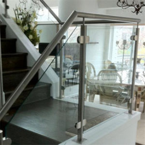Customized Design Tempered Glass Balcony Railing with High Quality pictures & photos