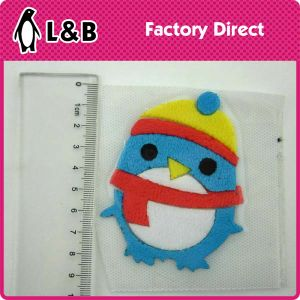 Wholesale Bear Shape Custom Design Iron on Patches pictures & photos
