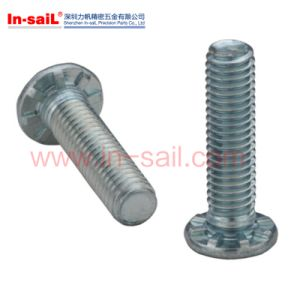 Zinc Plated Flat Head Full Thread Self Clinching Studs pictures & photos