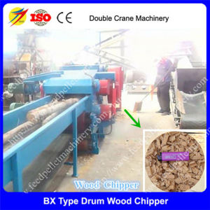 Drum Wood Chipper/ Crusher Machine for Hardwood and Softwood and Wood Log