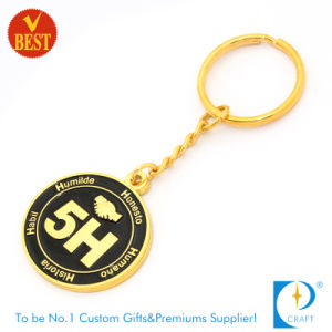 Maker No Minimum Custom Promotional Gift Double Sided Logo Metal Key Chain Zinc Alloy Trolley Coin Holder Souvenir Metal Keychain with Bottle Opener pictures & photos