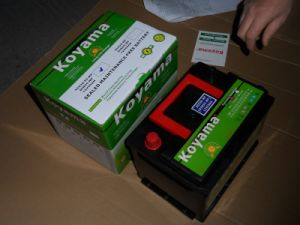 Sealed Auto Starting Battery 12V55ah-DIN55mf (55530MF) pictures & photos