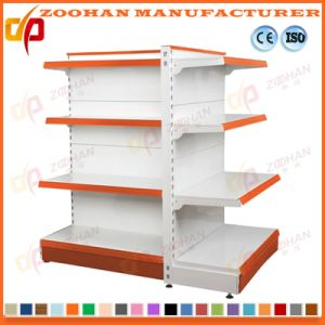 Factory Customized Single Sided Metal Supermarket Display Shelf (Zhs551) pictures & photos