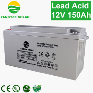 Long Working Life 12V 150ah UPS Battery pictures & photos