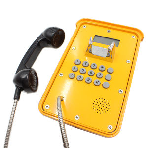 Kntech VoIP SIP Poe Phones with LCD Display Weatherproof Telephones pictures & photos