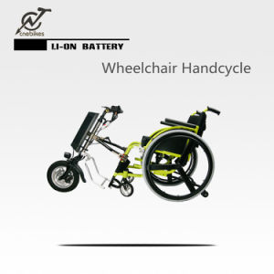 Professional 36V 250W Electric Wheelchair Handcycle with LED Light pictures & photos