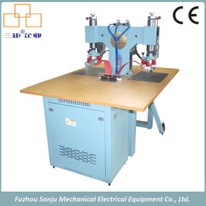 High Frequency One-Side Double Station Welder Machine for Shoe Upper pictures & photos