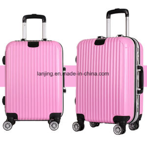 Bw1-165 Lightweight Aluminium Trolley Luggage Magnesium Alloy Suitcase pictures & photos