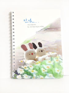 PVC Spiral Notebook Stationery Custom Notebook Printing pictures & photos
