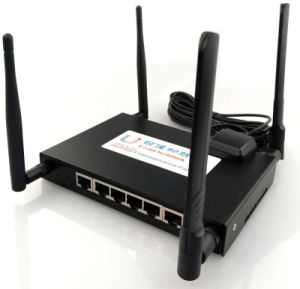 CAT6 1000Mbps 4G Lte WiFi Router, 2.4G and 5GHz Dual Band WiFi Router, Support Openwrt Gpio Rj485 pictures & photos