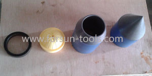 Spt Nose Cone for Soil Testing Undisturbed Soil Coring pictures & photos