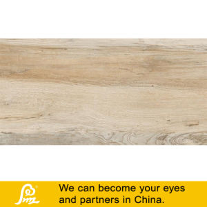 Khaki Digital Wooden Porcelain Rustic Tile 150X900mm pictures & photos