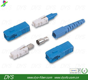 Sc Simplex Singlemode Fiber Optic Connector pictures & photos