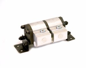 Hydraulic Geared Rotary Flow Divider Gear Motor pictures & photos