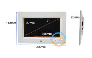 Battery Powered Digital Photo Frame 7inch Android 3G 4G Wireless WiFi (MW-077WDPF) pictures & photos