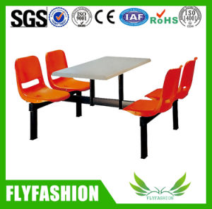 Hot Sale Restaurant Table and Chair with Four Seats for Sale pictures & photos