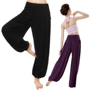 Bamboo Fiber Yoga Pants/Yoga Wear pictures & photos