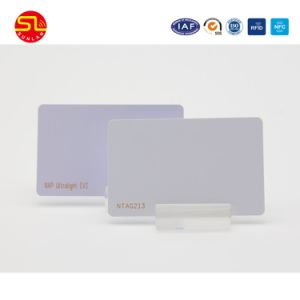 PVC/Pet/PETG Em4200/Tk4100/ S50 Smart Card with Screen Print or Laser Mark Number pictures & photos