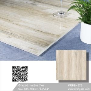 Carara White Glazed Marble Polished Porcelain Floor Tile (600X600mm, VRP6H019) pictures & photos