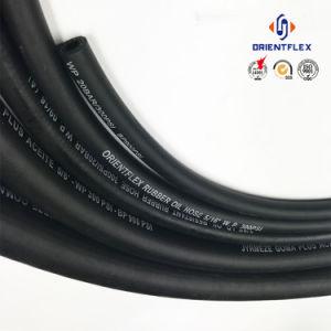 "ISO 1/8""-1"" SAE J30r6 Flexible NBR Rubber Diesel Fuel Hose pictures & photos"