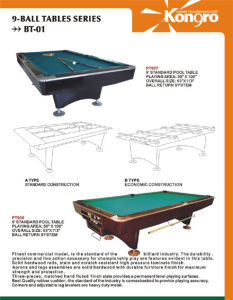 Modern table --Ball return table