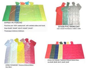 PVC / PE Raincoat