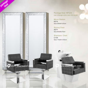 Styling Chair, Shampoo Chair, Salon Mirror (Package Deal NP225) pictures & photos
