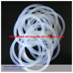 Food Grade Silicone Rubber O Ring Gasket for Food Machinery pictures & photos