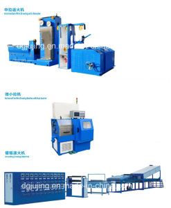 Intermediate Wire Cable Drawing Machine with Annealer pictures & photos