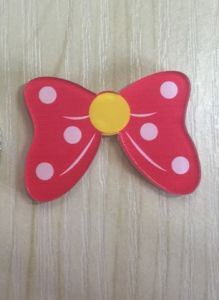 Lovely Rose Red Bow Brooch Fashion Jewelry Accessories