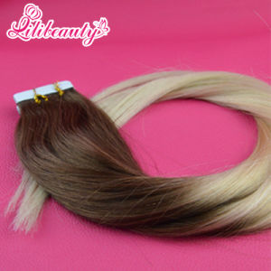 100% Human Hair Tape Hair Extension Skin Weft pictures & photos