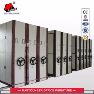 Government Use Professional Mobile Cabinet Metal Mass Shelf Archive Shelves pictures & photos